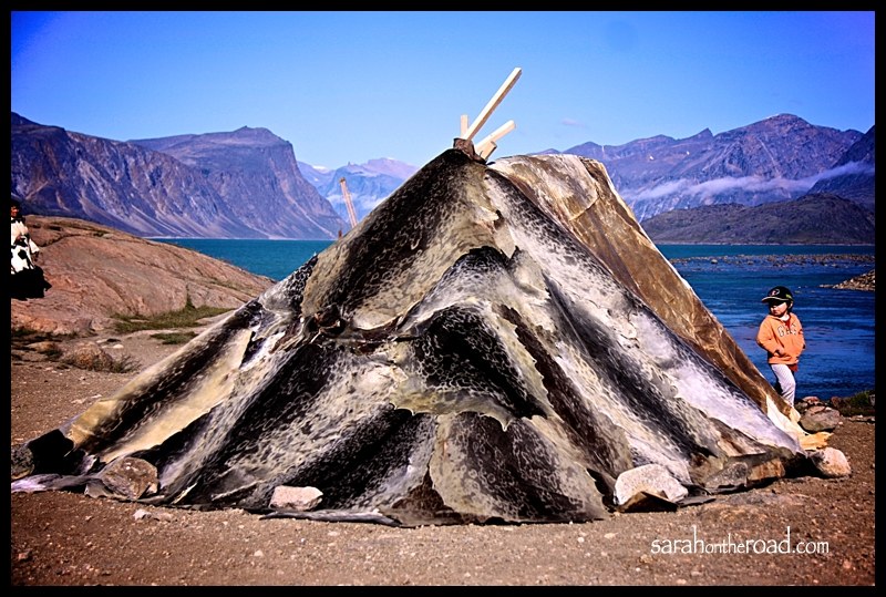 Native American Pit House Inuit Tribe Shelter Re...